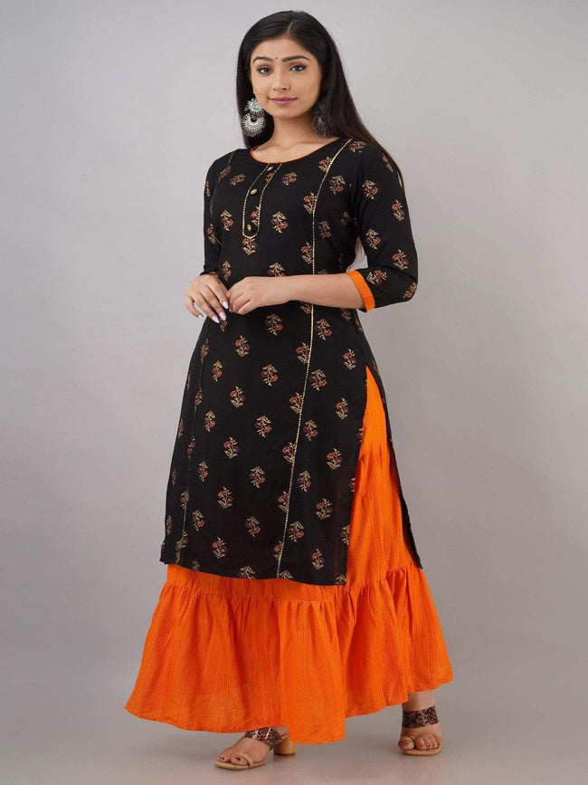AY - Kurta Skirt set with dupatta - ZERESOUQ