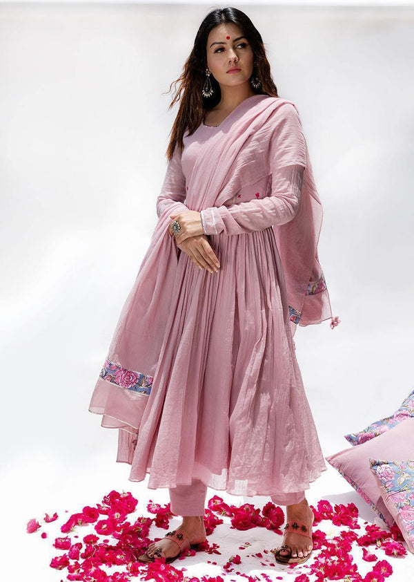 Gulabi - Anarkali (Set of 3)