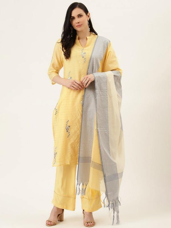 Kurtas-with-palazzo-and-dupatta
