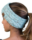 Multi Colorful Knitted Crochet Twist Women Headband
