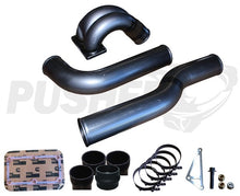 "Load image into Gallery viewer, 2010-2012 Pusher 3.5"" MEGA Intake System with Passenger Side Intercooler Tube for Dodge Cummins"
