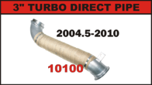 "FloPro 3"" Turbo Direct Pipe 2004.5-2010"