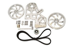Load image into Gallery viewer, Beans Cummins Triple CP3 Kit Includes (2) 10 Inch Pulleys, Idler Pulley, and Belt (No Pumps)