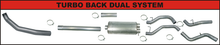 Load image into Gallery viewer, 2003-2004 Cummins 5.9L Turbo Back Aluminized Exhaust Systems