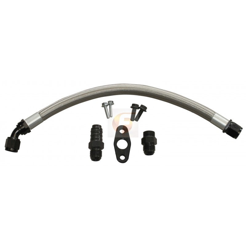 Fleece Cummins Turbo Drain Tube Kit