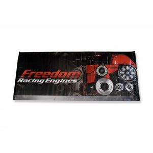 Freedom Racing Engine 6 X 2.5ft Banner