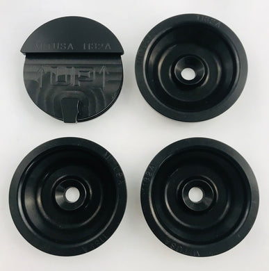 Beans Machine Firepunk Engineering Billet Freeze Plugs - BLACK