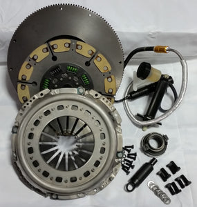 "Valair Single Disc Clutch 2005.5+ Dodge G56 Mercedes 6 Speed 13"" x 1.375"" Kevlar / Ceramic Buttons"