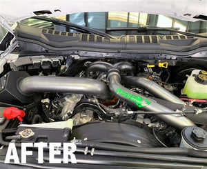 Pusher Coolant Reroute for 2011+ Ford 6.7L Powerstroke