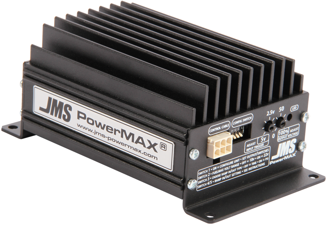 JMS FUELMAX - PowerMax 18.5-22v Dual Input/Output with Plug and Play Wiring fro 2018-2019 Dodge Demon/Hellcat and Jeep Track Hawk