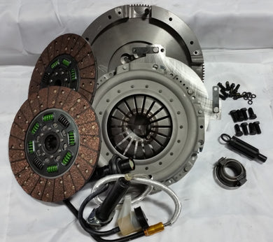 Valair Dual Disc QUIET Clutch 2005.5+ Dodge G56 Mercedes 6 Speed 13