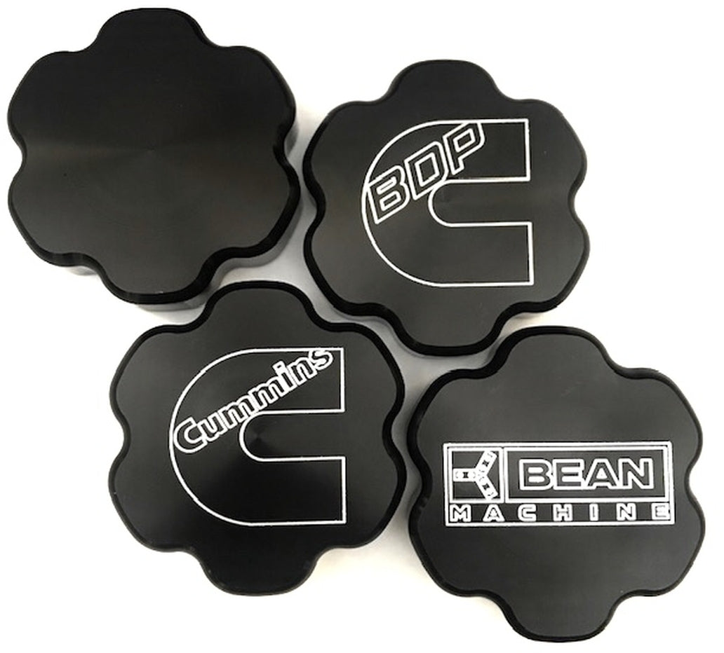 BDP Bean Machine Anodized Cummins Push-On Oil Cap Cover - Star 210040