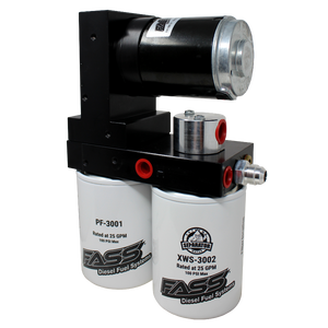 TITANIUM SIGNATURE SERIES DIESEL FUEL LIFT PUMP 220GPH@55PSI FORD POWERSTROKE 7.3L AND 6.0L 1999-2007 (TS F14 220G)