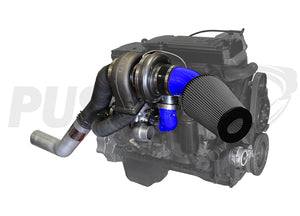 Pusher High Mount Compound Turbo System for 2010-2012 Ram 6.7L Cummins Trucks