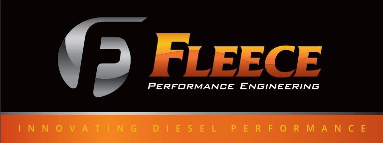 Fleece Performance Logo 6 X 2.5ft Banner