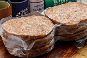 Hamburger Patties - 6oz ( lb) 8 burgers per pack
