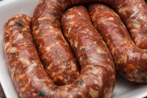 Ribeye Sausage - (2 lb) 3 links of sausage per pack
