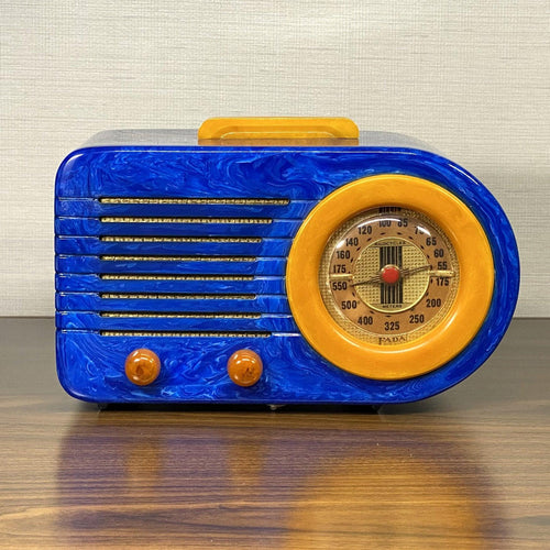 Blue FADA Bullet Catalin Radio For Sale
