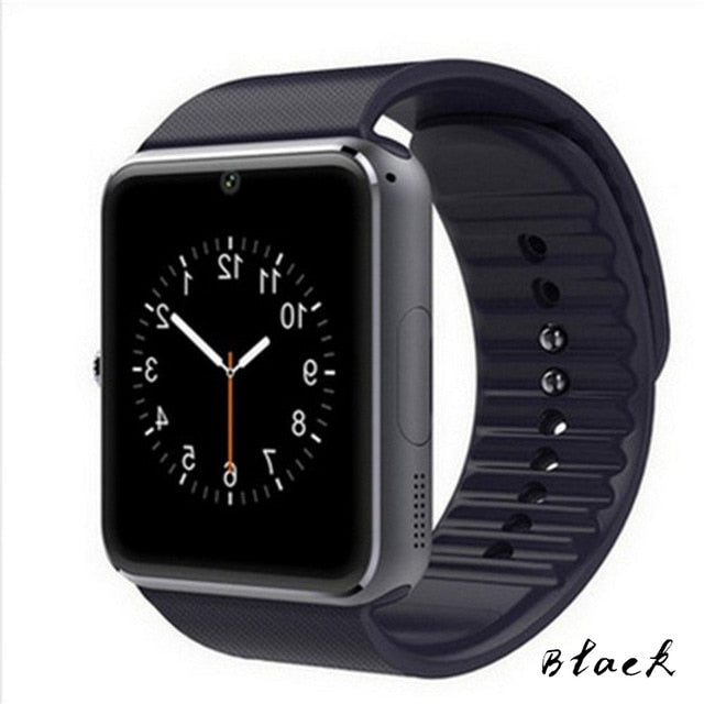 Smart Watch GT08 Z60 Metal Clock Bluetooth Smartwatch Fitness Bracelet Support SIM Card Wristwatch For Android Phone PK DZ09 - LE JAO EXPRESS