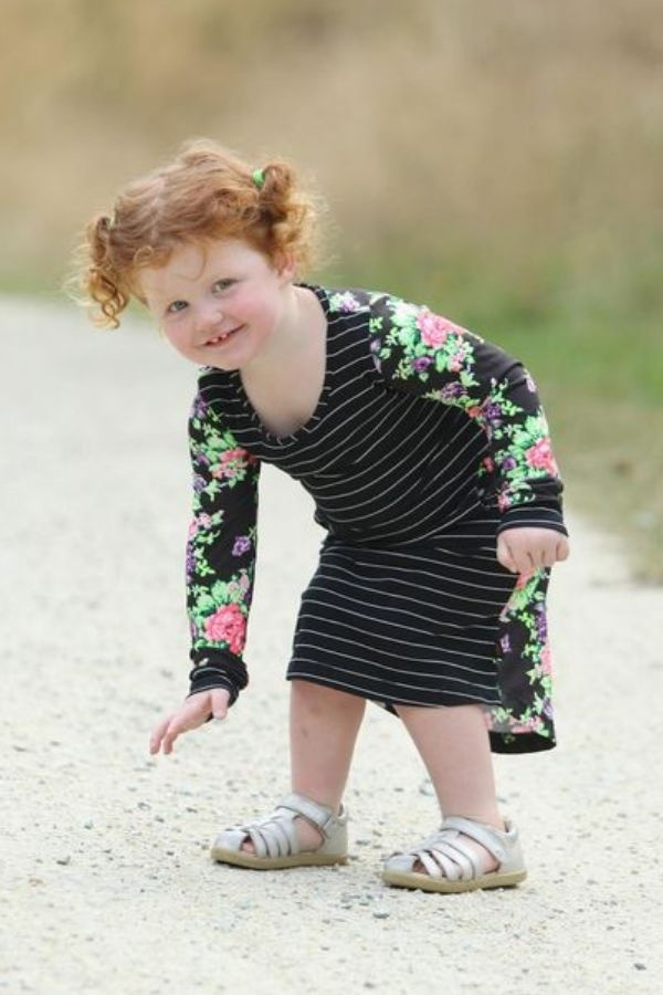 Skyla Dress Mini Me by Emily Rose Designs. Affordable, comfortable New Zealand designed girls' dresses.