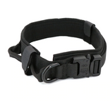 Adjustable Military Tactical Dog Collar |  For Large Or Small Pets | Control Handle Training