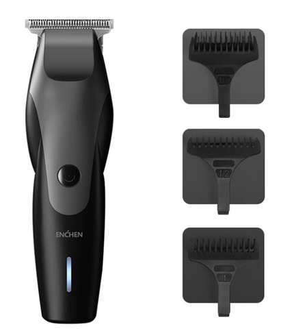 Enchen Professional  Waterproof Hair Trimmer | USB Power For Wireless Use