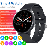NEW! 2020 Full Touch Smart Watch Men/Women  | Monitors Heart Rate Blood Pressure Oxygen | Smartwatch for Apple And Android Phone