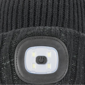 Sealskinz 100% vatnsheld húfa - Cold weather with led