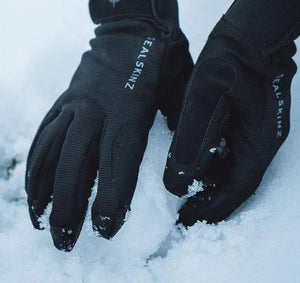 Sealskinz 100% Vatnsheldir Hanskar all weather Black