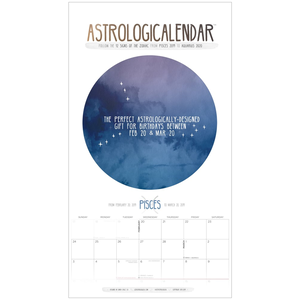 Astrologicalendar for Pisces (begins February 20, 2019)