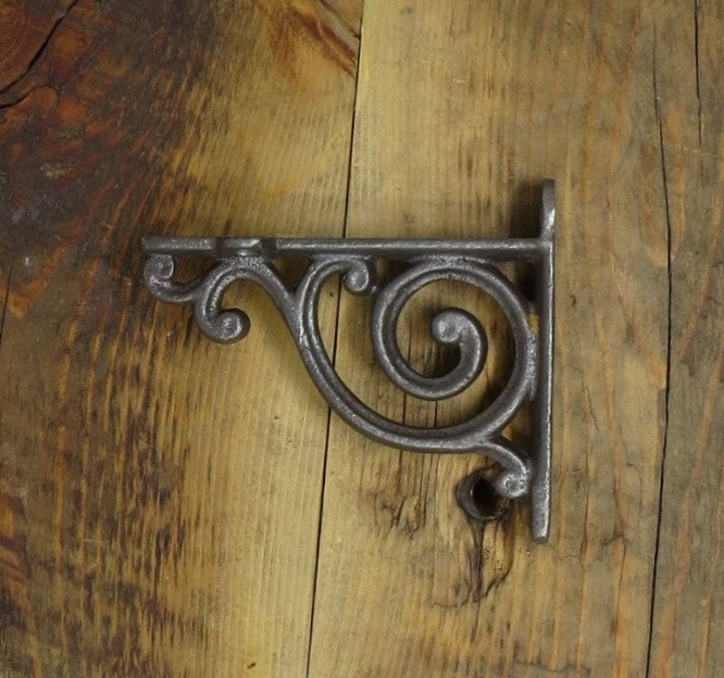Small Scrolled Iron Corbel