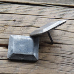"1 1/2"" Square Plateau Hammered Head Nail"