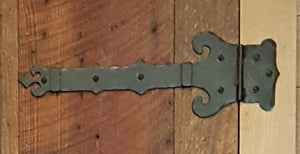Baroque Iron Functioning Hinge Strap