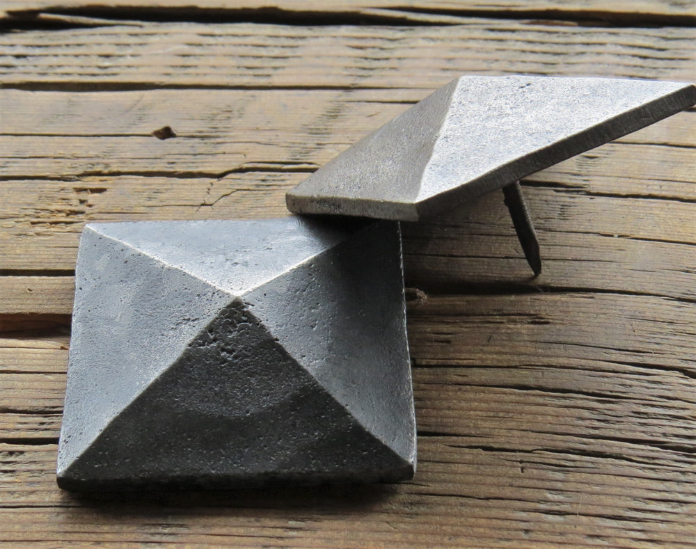 "2"" Square Hammered Pyramid Head Nails"