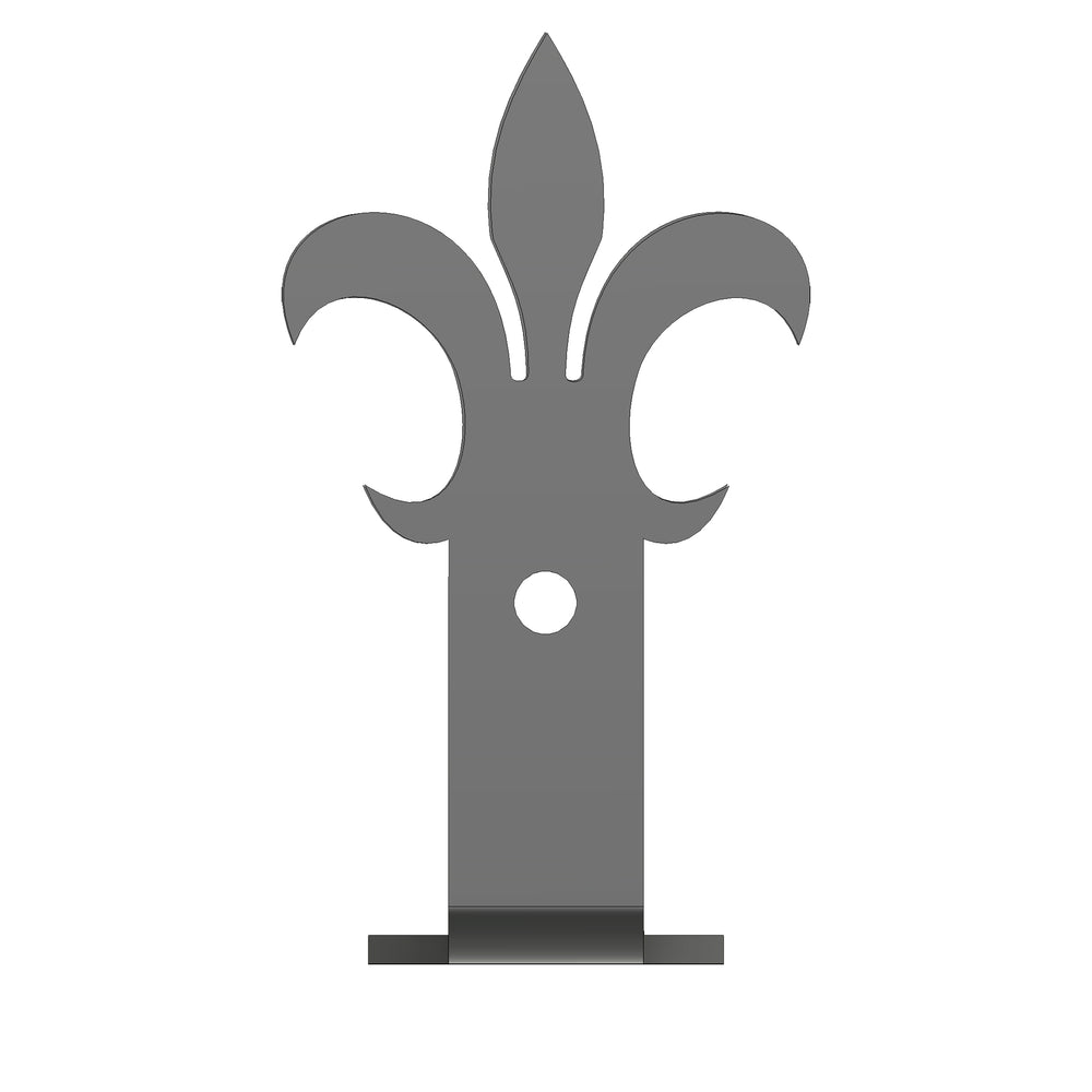 Load image into Gallery viewer, Egyptian Fleur De Lis Iron Beam Strap