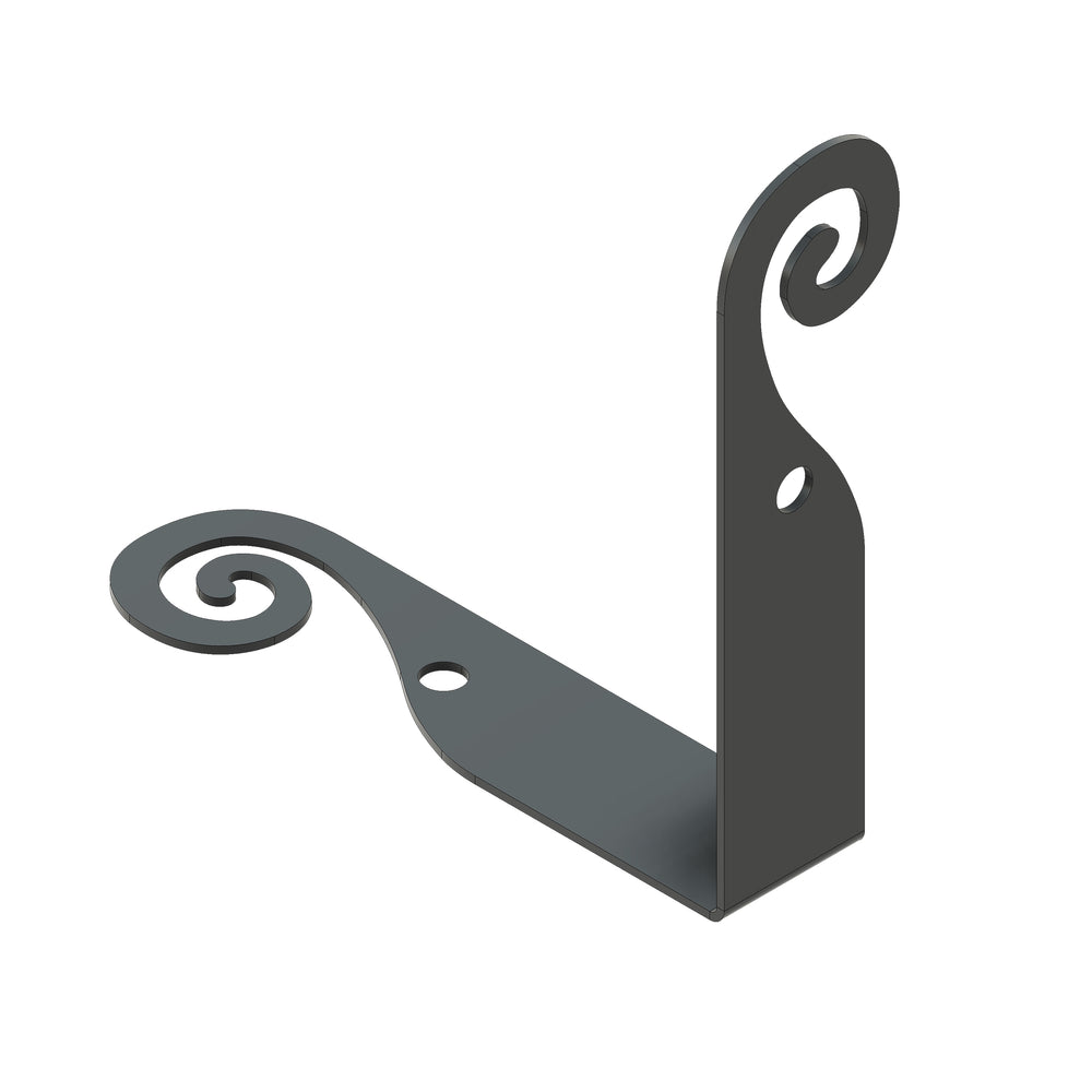 Greek Ionic Iron Corner Strap