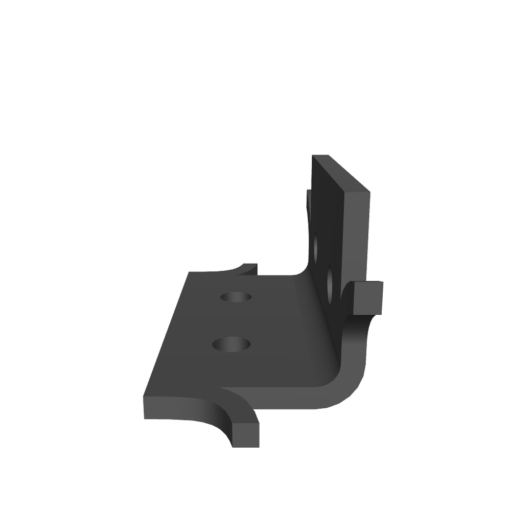 Load 3D model into Gallery viewer, Scandinavian Iron Angle Brace