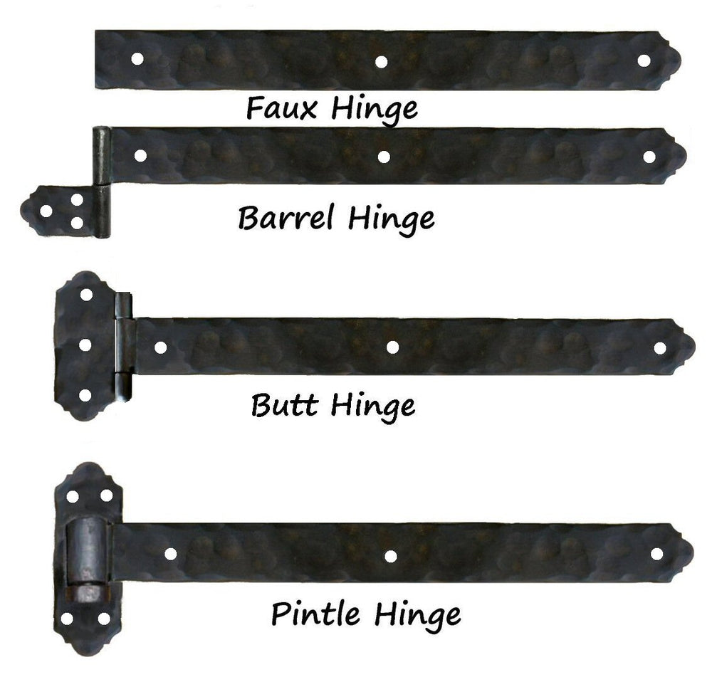 Load image into Gallery viewer, Classic Iron Functioning Hinge Strap