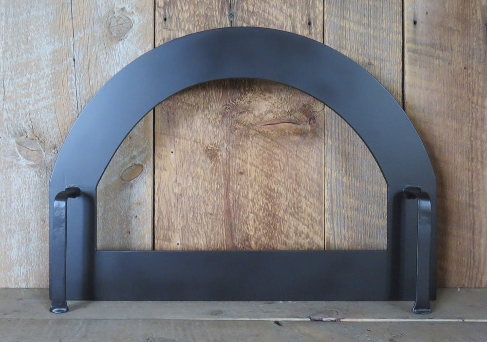 Custom Modern Arched Freestanding Pizza Oven Door