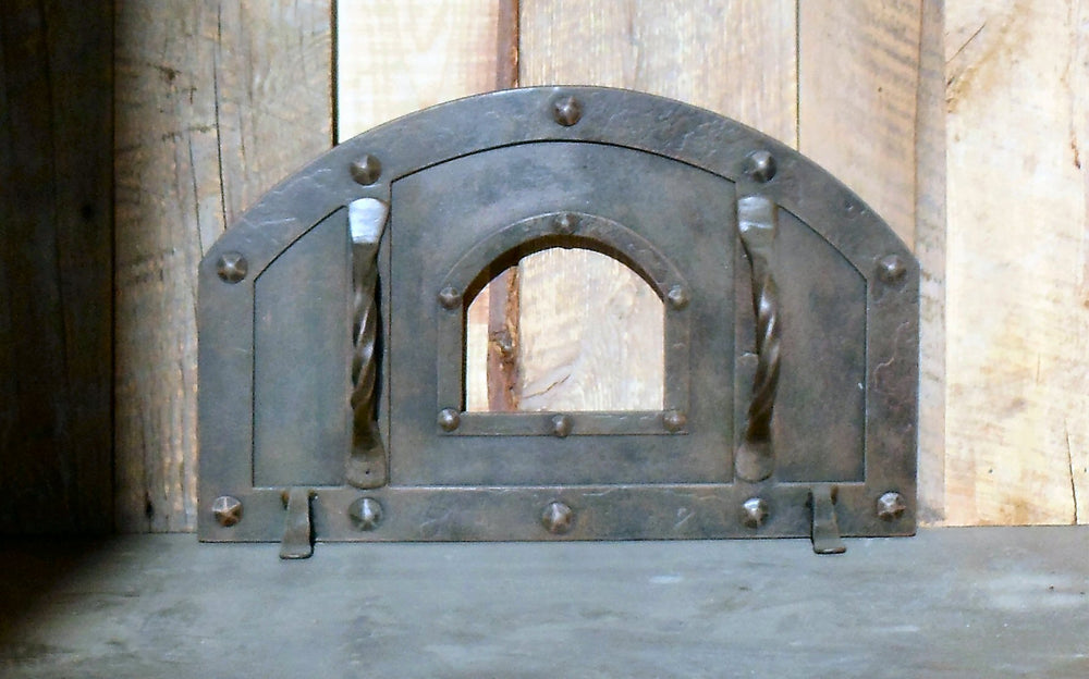 XL Tuscan Arched Hinged Pizza Oven Door