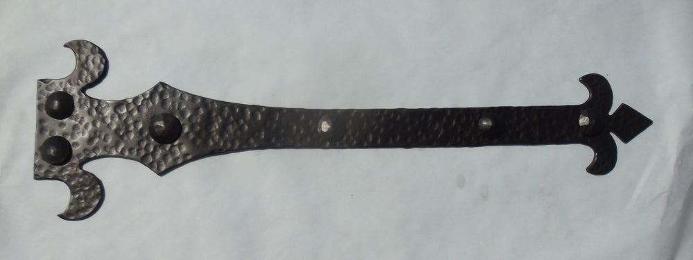 French Empire Iron Faux Hinge Strap