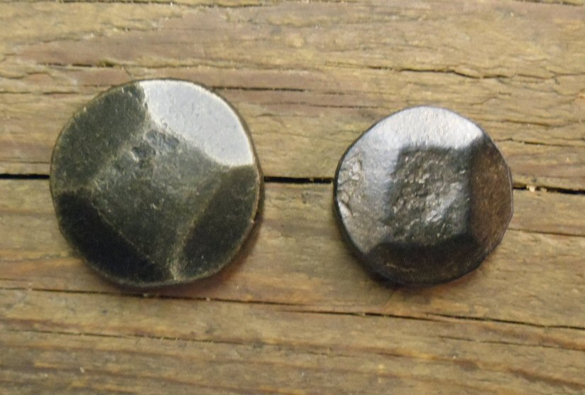 "3/4"" Thick Round Hammered Head Nail"