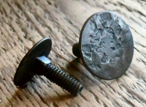 "1/4"" Dia. Distressed Flat Head Carriage Bolt"