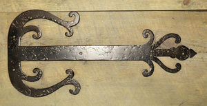 Load image into Gallery viewer, Celtic Iron Faux Hinge Strap