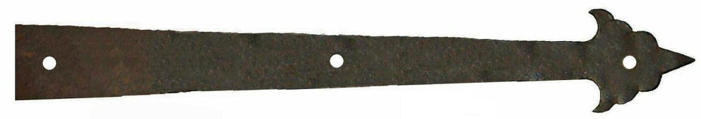 XL Early American Iron Faux Hinge Strap