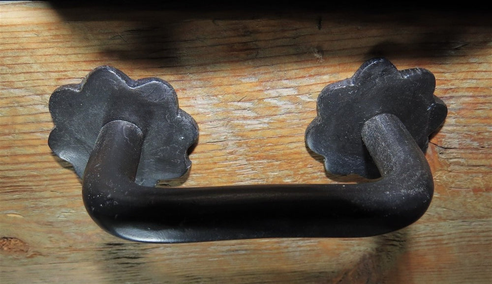 German Castle Iron Cabinet Handle