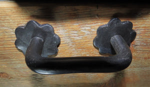 Load image into Gallery viewer, HCH-339 German Castle Iron Cabinet Handle