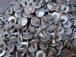 "Raw Metal Lot HCN-03 1"" x 3/4"" Round Pyramid Head Spike QTY (100)"