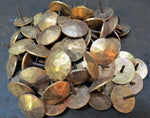 "1"" Solid Bronze Nails Rough Lot of 200"