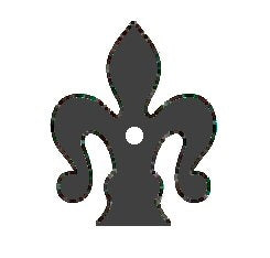 Load image into Gallery viewer, HCP-335 Florence Fleur De Lis Iron Washer